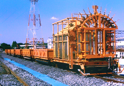 Ballast hopper cars .. car-building limits